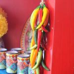 Chili decorations