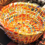 Small fair trade basket