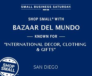 Bazaar del Mundo Small Business Saturday
