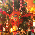 Folk Art Mask Christmas Tree