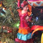 Christmas Tree Folkloric Dancer