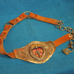 Heart Belt from Mexico
