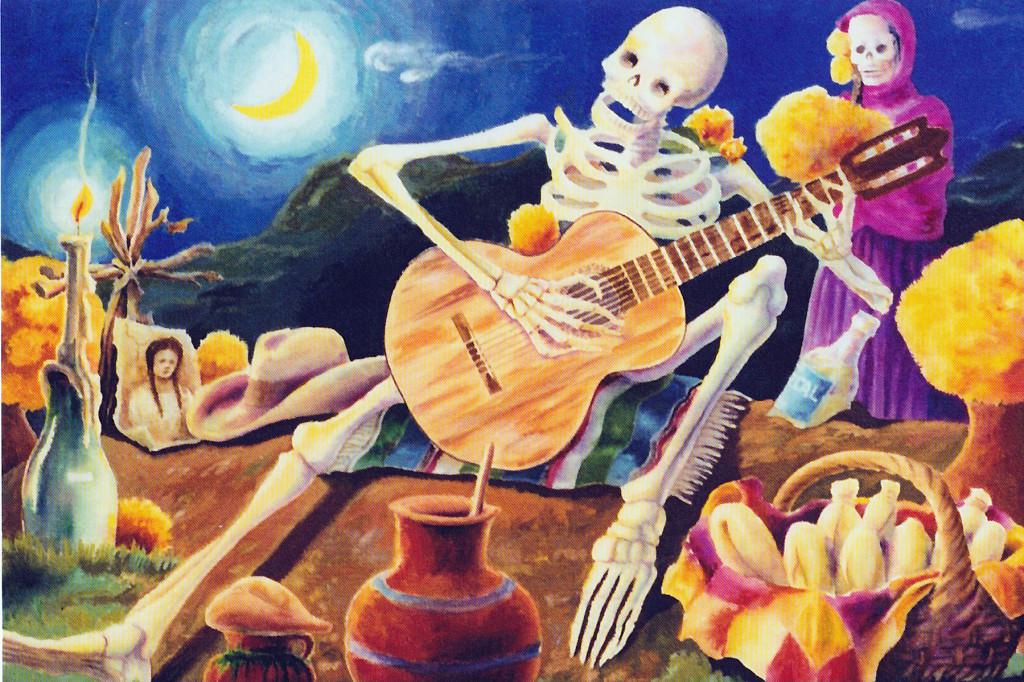 Dia de los Muertos at Bazaar del Mundo