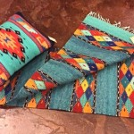 oaxacan pillow runner